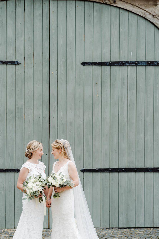 same sex wedding couples portraits at primrose hill farm LGBTQ+