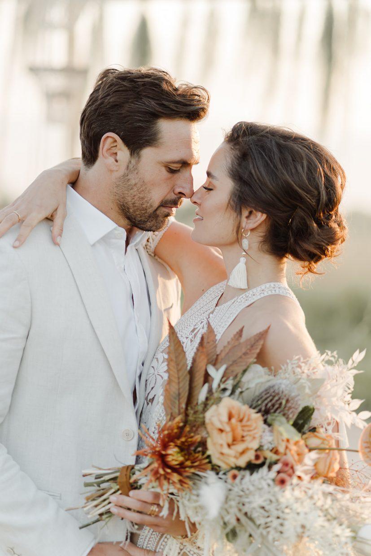 boho couples destination wedding naked tipi rue de sien dress