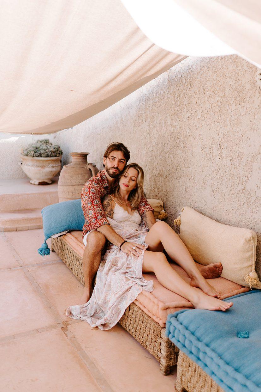 couples engagement shoot riad marrakech