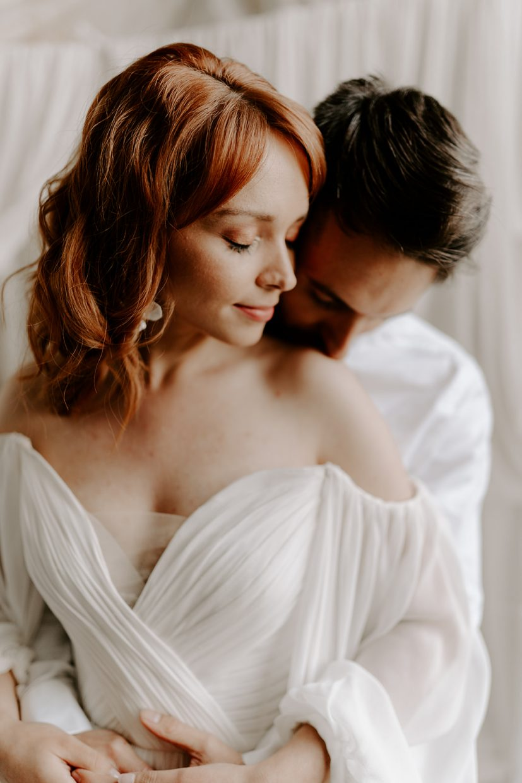 Grrom-Kissing-Bride-butley-priory-wedding
