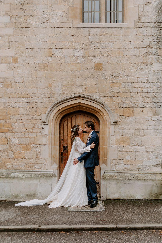 Boho-Colombian-and-Italian-Wedding-in-Oxford-City-Bodleian-radcliffe-camera-university